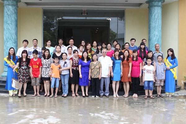 Tâm Bình đón đoàn thăm quan Cựu học sinh Trường THPT Chuyên Lam Sơn - Thanh Hóa