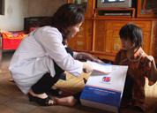 Khám bệnh, cấp thuốc miễn phí cho các Gia đình chính sách tỉnh Vĩnh Phúc