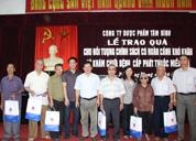 Tư vấn sức khỏe Người cao tuổi Thành phố Thái Bình