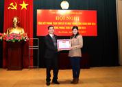 Dược phẩm Tâm Bình vinh dự nhận bằng khen của Liên đoàn lao động Quận Ba Đình