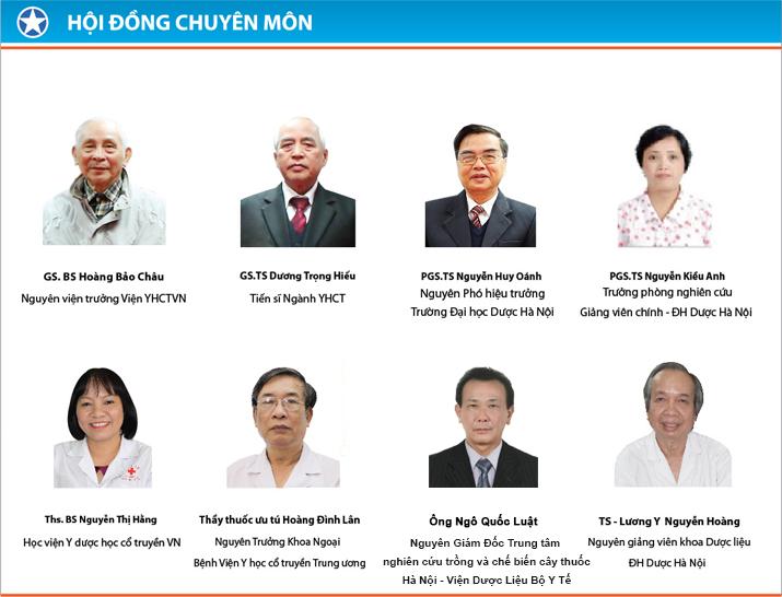 Hội đồng cố vấn chuyên môn Công ty Dược phẩm Tâm Bình