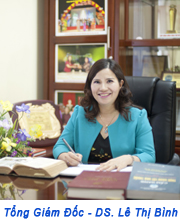 Tổng giám đốc - Dược sĩ Lê Thị Bình