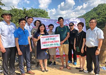 Hội doanh nhân Thanh Hóa tại Hà Nội và TPHCM hỗ trợ nhân dân sau thiệt hại do mưa lũ