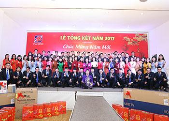 Dược phẩm Tâm Bình tưng bừng tổ chức tổng kết cuối năm 2017