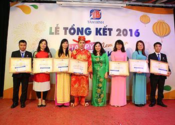 Sôi động buổi liên hoan tổng kết năm 2016 của Công ty Dược phẩm Tâm Bình