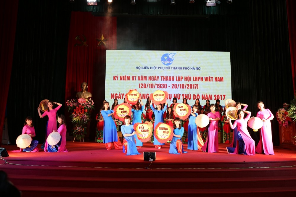 Ngày hội sáng tạo phụ nữ Thủ đô năm 2017