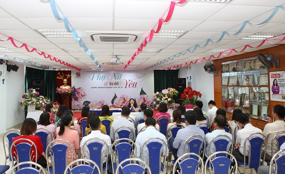 TGĐ Lê Thị Bình chia sẻ cách dạy con