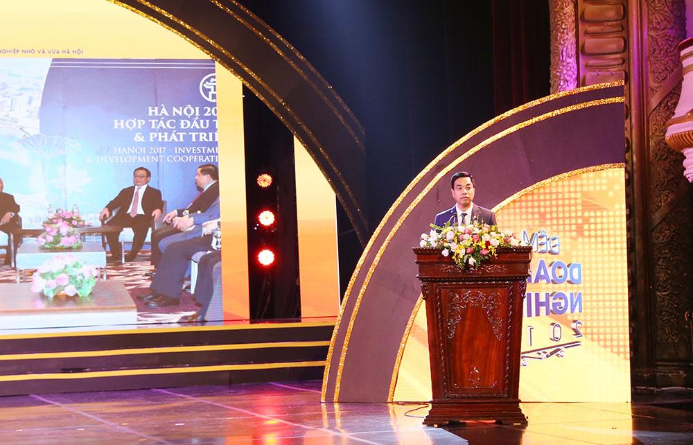 Ông Mạc Quốc Anh, Phó Chủ tịch kiêm Tổng Thư ký Hiệp hội Doanh nghiệp nhỏ và vừa TP Hà Nội
