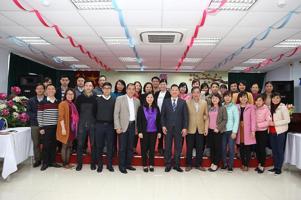 CBCNV Tâm Bình cùng thầy Đỗ Tiến Long