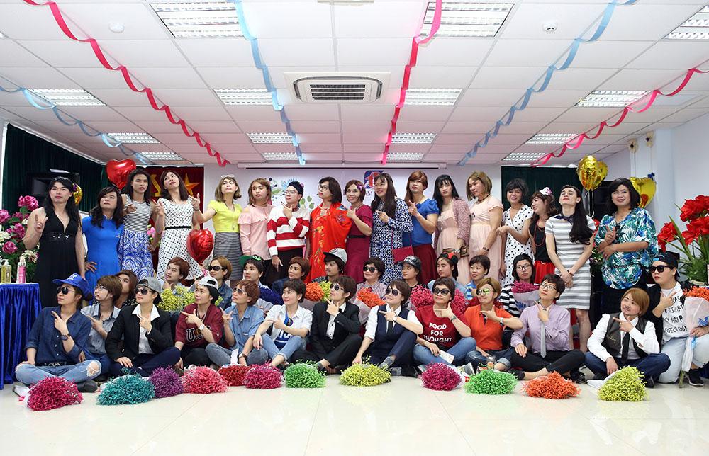 CBNV Tâm Bình rạng rỡ trong ngày quốc tế phụ nữ 8/3/2017