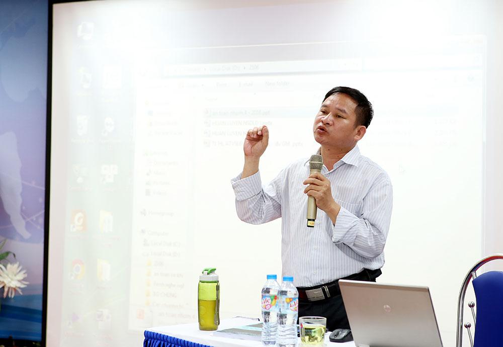 Chuyên gia Phạm Tuấn Hải, Trường phòng đo lường, Trung tâm kiểm định Kỹ thuật An toàn