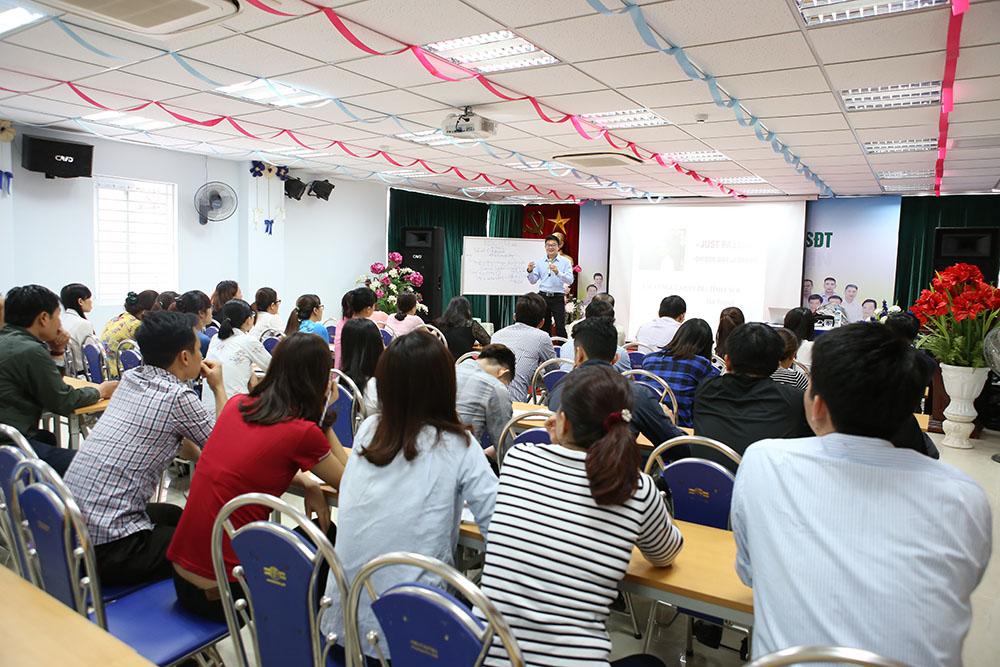 CBVN Dược Tâm Bình tham gia khóa học