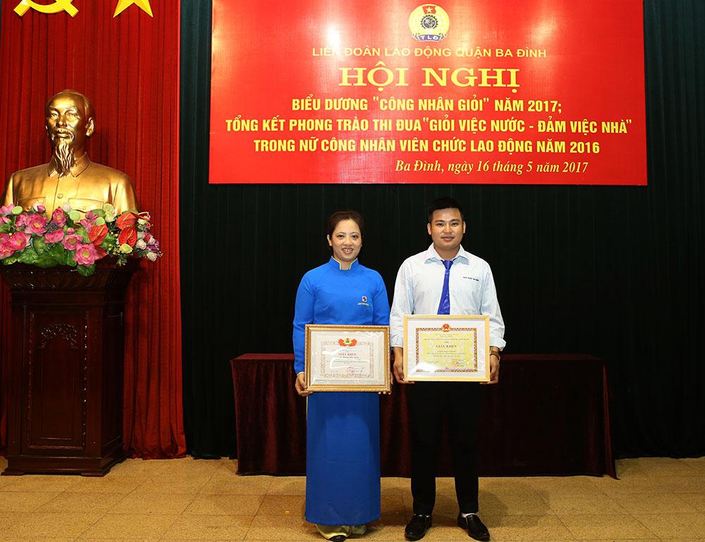 Anh Nguyễn Tiến Long và chị Trịnh Thị Hà
