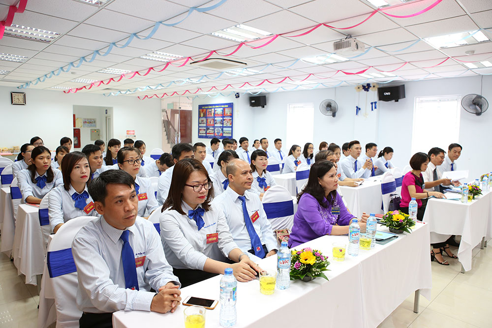 Đại hội Công đoàn Công ty TNHH Sản xuất và Thương mại Dược phẩm Tâm Bình lần thứ nhất, nhiệm kỳ 2017 – 2022
