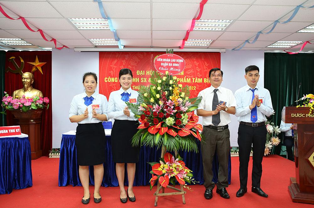 Đồng chí Nguyễn Xuân Trọng, Quận ủy viên, Chủ tịch LĐLĐ quận Ba Đình