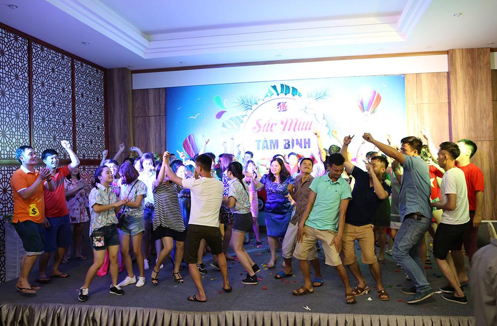 Nhảy kết thúc chương trình