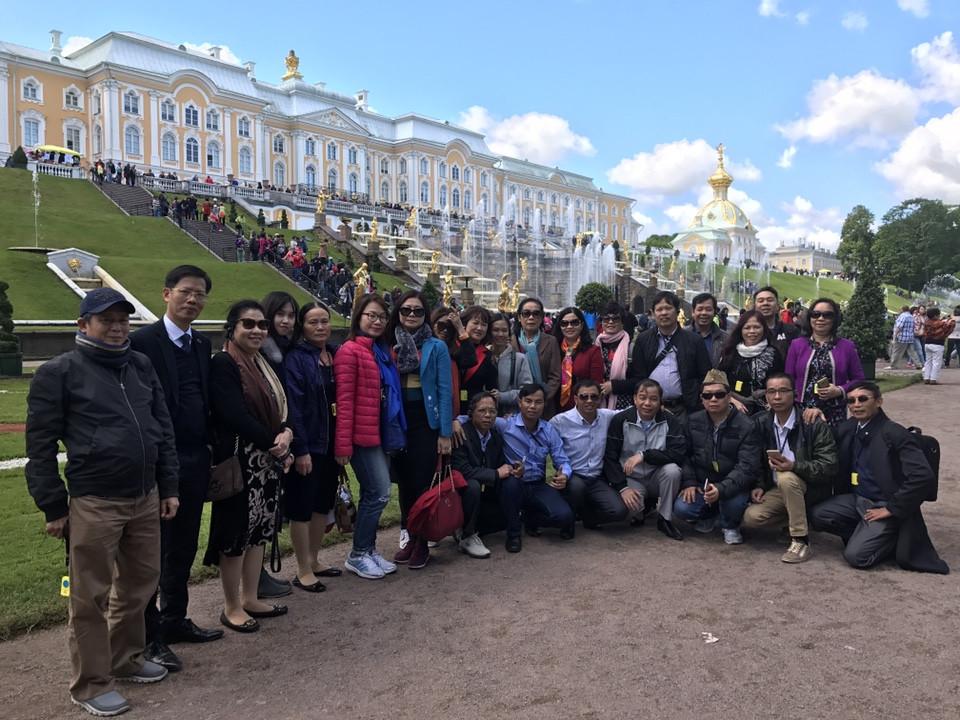 Hành trình đến với nước Nga của Dược phẩm Tâm Bình và các đại lý xuất sắc