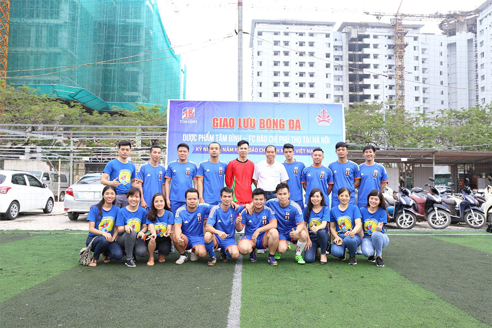 Đội hình FC Tâm Bình và các cổ động viên