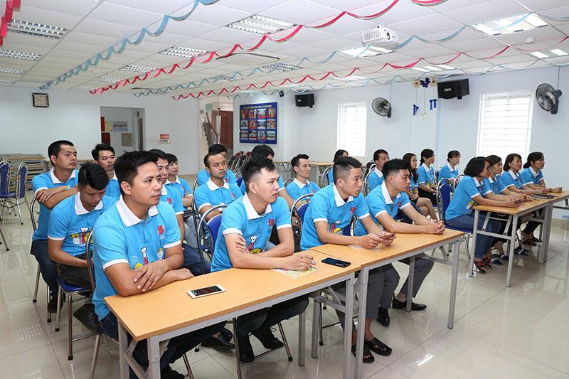 Đông đảo cán bộ nhân viên Công ty tham gia buổi tập huấn
