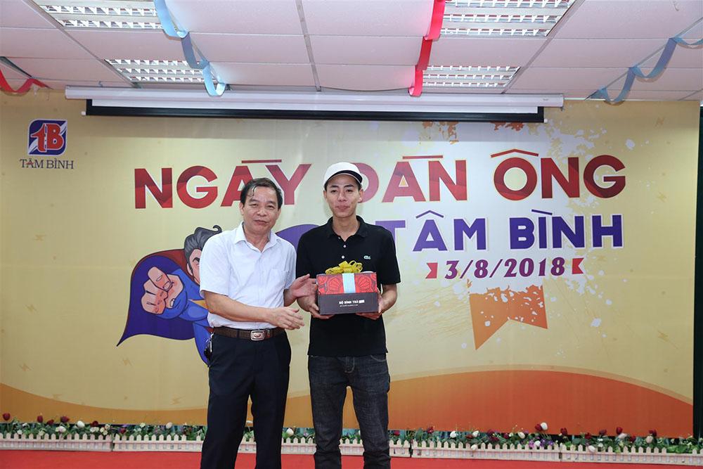 Snh Đức Thanh (Phòng Kế toán) đạt giải nhất