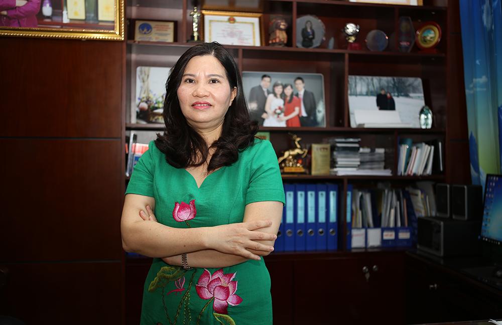 Dược sỹ Lê Thị Bình – TGĐ Công ty Dược phẩm Tâm Bình