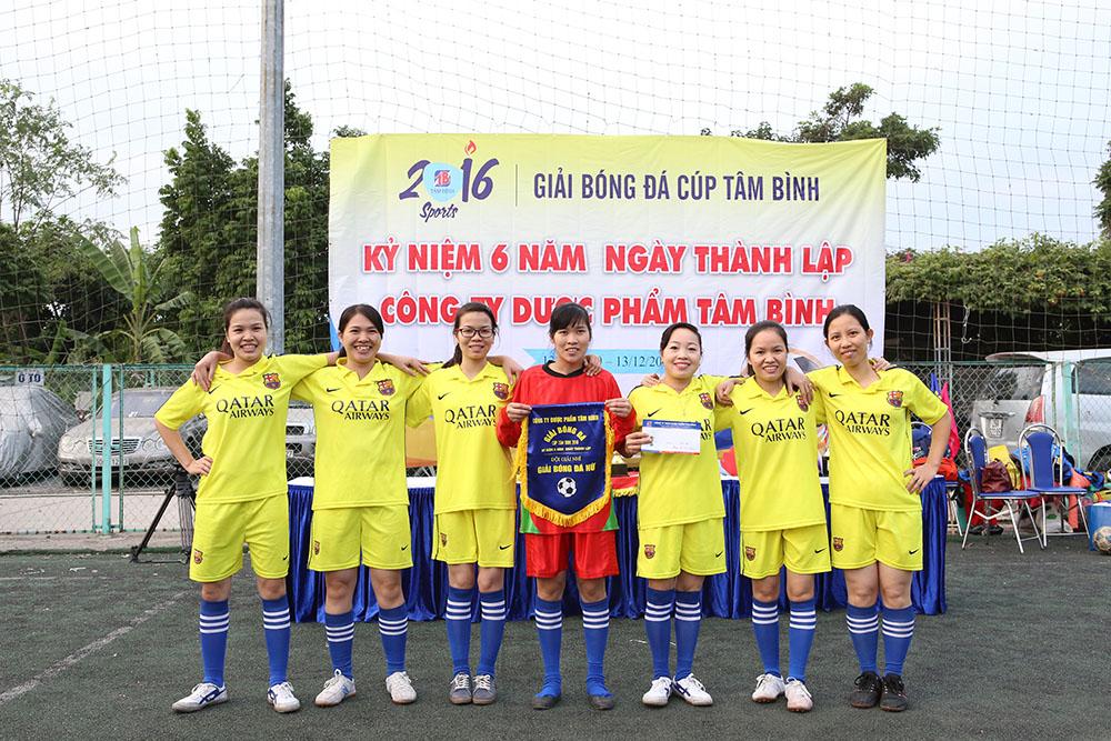 Đội nữ giải nhì
