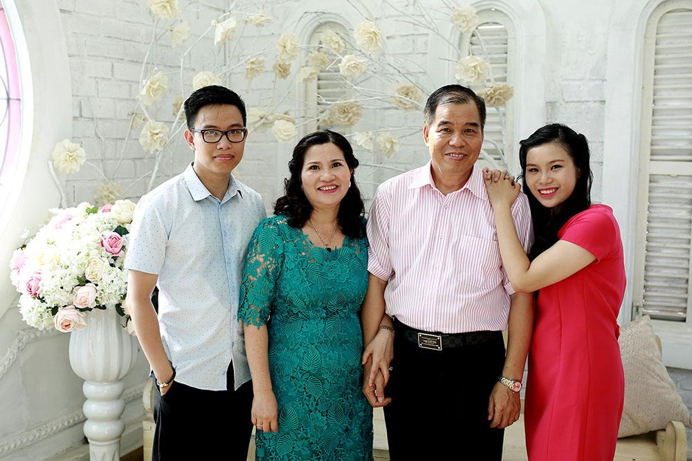 Gia đình – điểm tựa cho thành công của chị