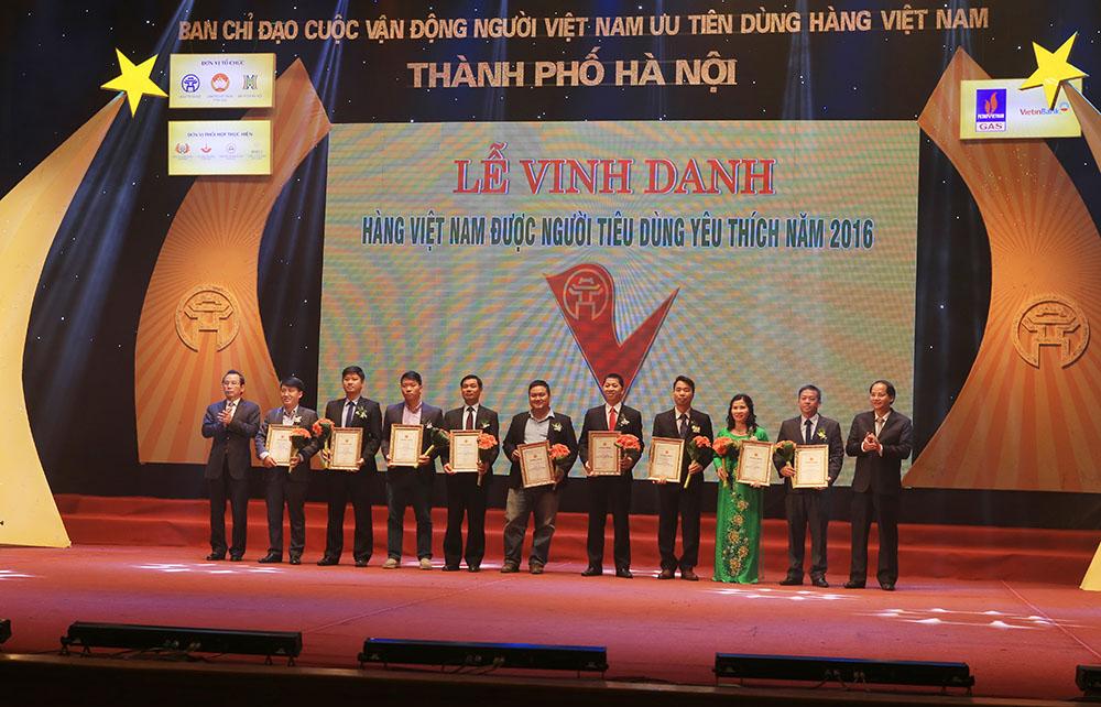 Hàng Việt Nam chất lượng cao 2016