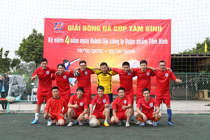 Chung kết bóng đá Tâm Bình: KM1 chiến thắng đầy thuyết phục