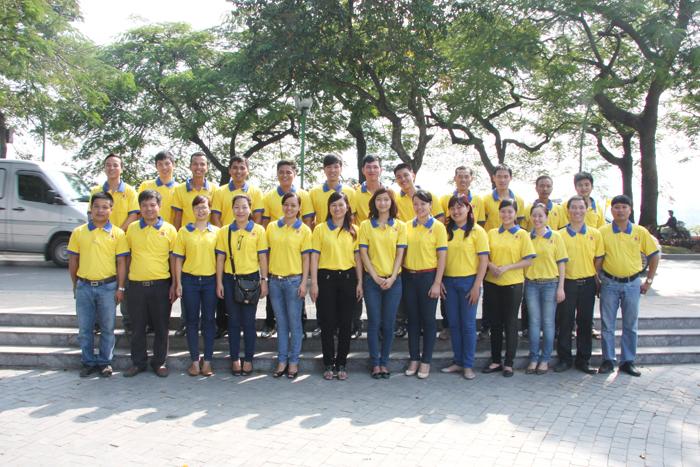 Tập thể nhân viên Công ty tham gia hiến máu nhân đạo