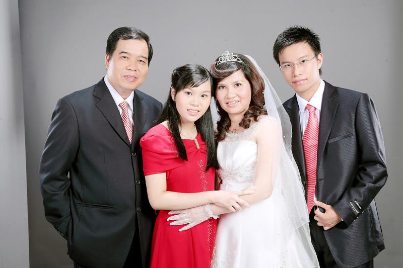 Gia đình hạnh phúc của DS Lê Thị Bình
