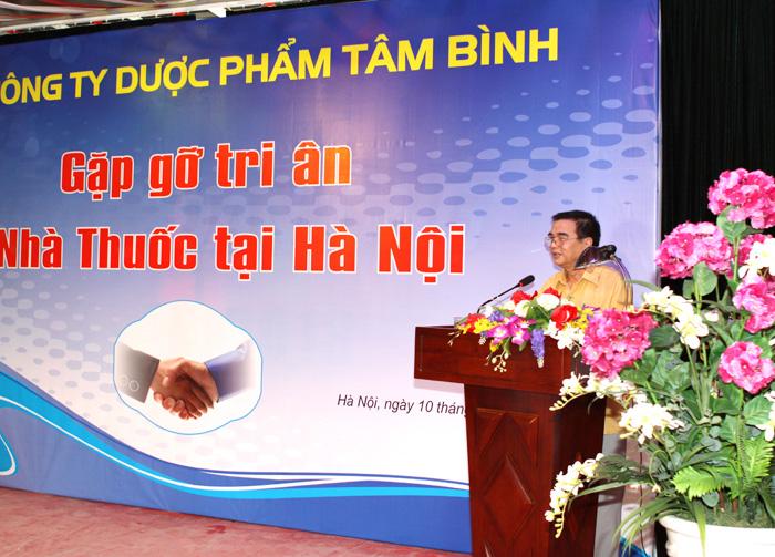 PGS.TS Nguyễn Huy Oánh Phát biểu cảm nghĩ về Tâm Bình