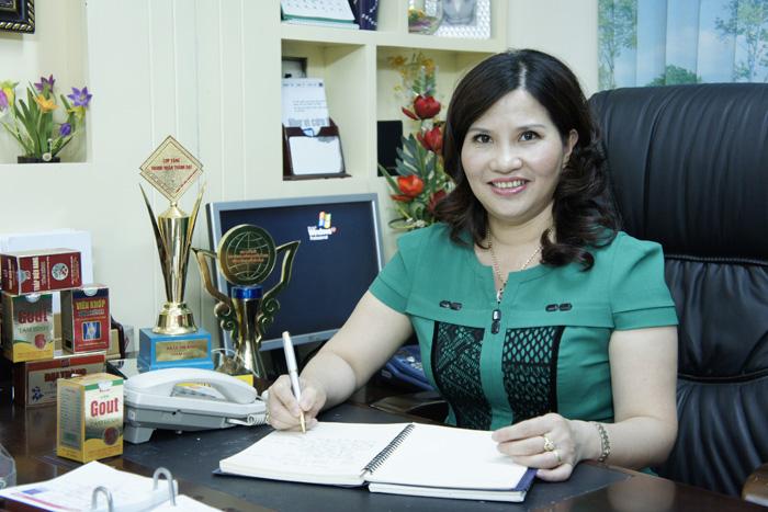Tổng giám đốc Dược sĩ Lê Thị Bình