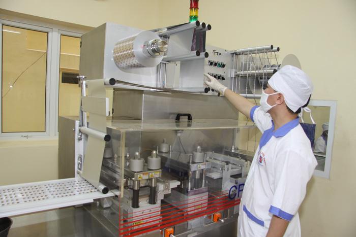 Nhà máy sản xuất của công ty dược phẩm Tâm Bình.