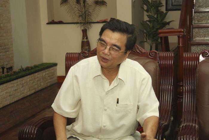PGS. TS Nguyễn Huy Oánh - Nguyên Phó hiệu trưởng trường Đại Học Dược Hà Nội