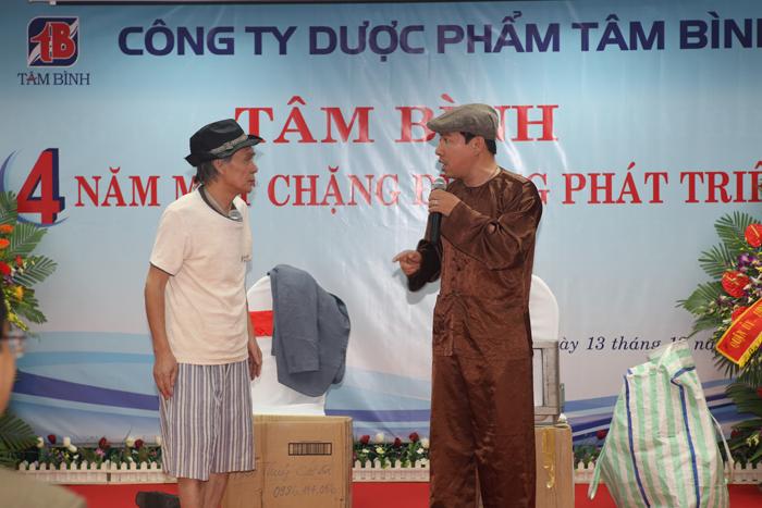 Tiết mục hài Quang Thắng