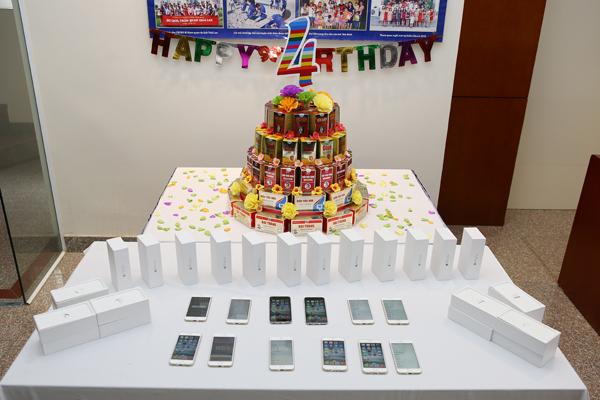 Iphone 6 tặng nhân viên Tâm Bình