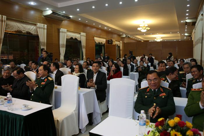 Lễ gặp mặt các Tướng lĩnh trong Ban liên lạc đồng hương Thanh Hóa tại Hà Nội