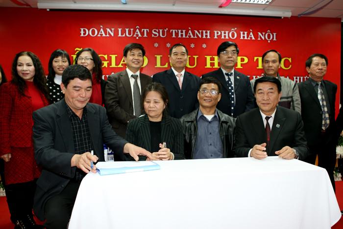 Nhóm luật sư 4G - ký kết hợp tác