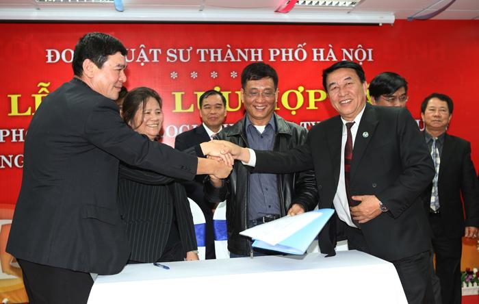 ký kết hợp tác Hội luật sư 4G