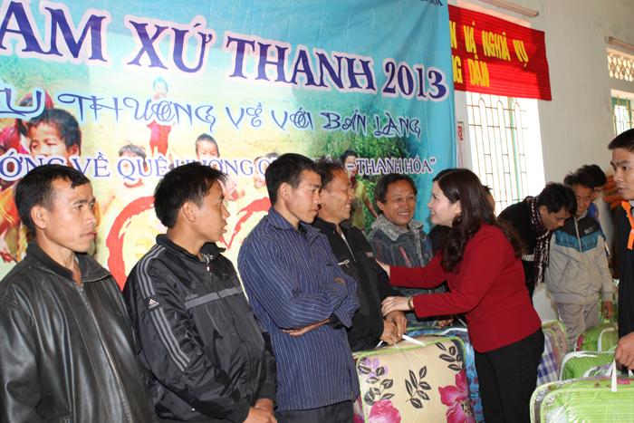 Công ty Dược phẩm Tâm Bình đồng hành cùng chương trình Đông ấm xứ Thanh 2013