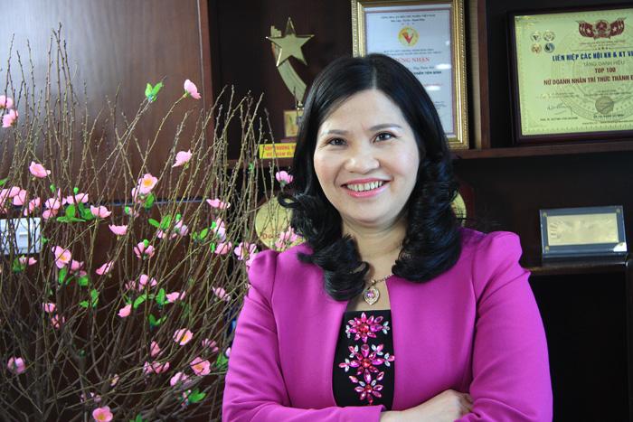 Dược sĩ Lê Thị Bình - Tổng giám đốc Công ty Dược phẩm Tâm Bình