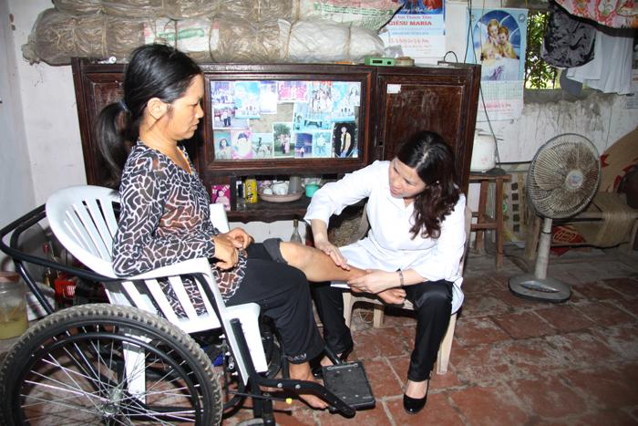 Nhân ngày Thương binh liệt sỹ 27/7/2012, Công ty Tâm Bình đã khám chữa bệnh miễn phí cho 1000 người tại huyện Nghĩa Hưng