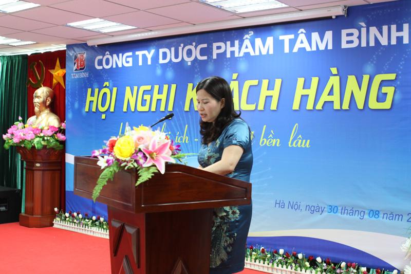 TGĐ Lê Thị Bình cam kết công ty sẽ luôn giữ bình ổn giá các sản phẩm