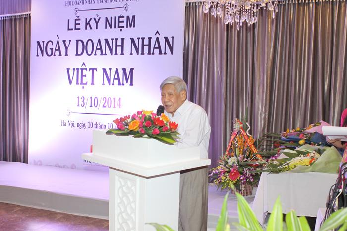 Nguyên Tổng Bí Thư Lê Khả Phiêu phát biểu tại lễ kỷ niệm