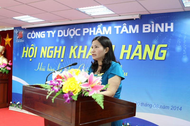 TGĐ.Ds Lê Thị Bình chia sẻ về kế hoạch phát triển trong thời gian tới cũng như những chính sách dành cho nhà thuốc