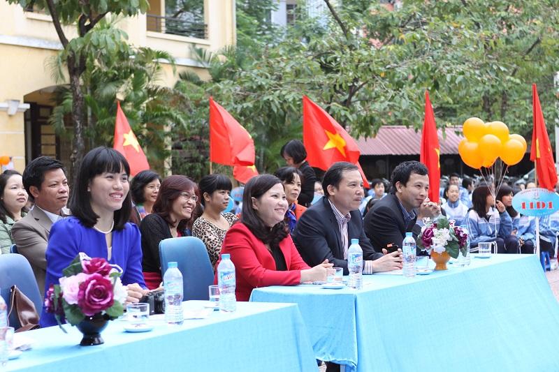 Công ty Dược phẩm Tâm Bình tham dự sự kiện truyền thông do tổ chức quốc tế Plan tài trợ diễn ra tại trường THPT Cầu Giấy, Hà Nội