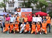 Tâm Bình tài trợ Cúp bóng đá Phóng viên lần thứ nhất năm 2015