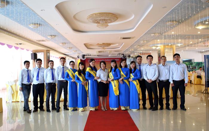 đội ngũ nhân viên Tâm Bình tổ chức hội nghị khách hàng Thái Bình