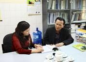 Công ty Dược phẩm Tâm Bình làm việc với Trung Tâm nghiên cứu trồng và chế biến cây thuốc Hà Nội - Viện Dược liệu